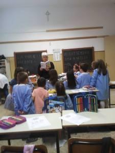 bimbi a scuolaa